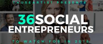 causeartist presents2018_socialentrepreneurs