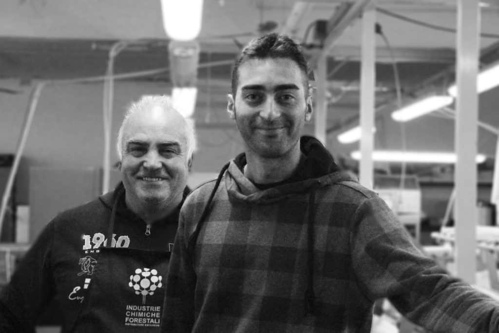 Mario and Giacamo shoemakers