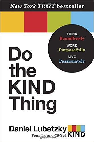 Social Entrepreneur Books - Do the KIND Thing