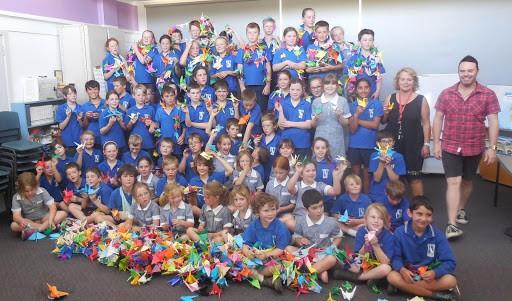 peace crane project_australia