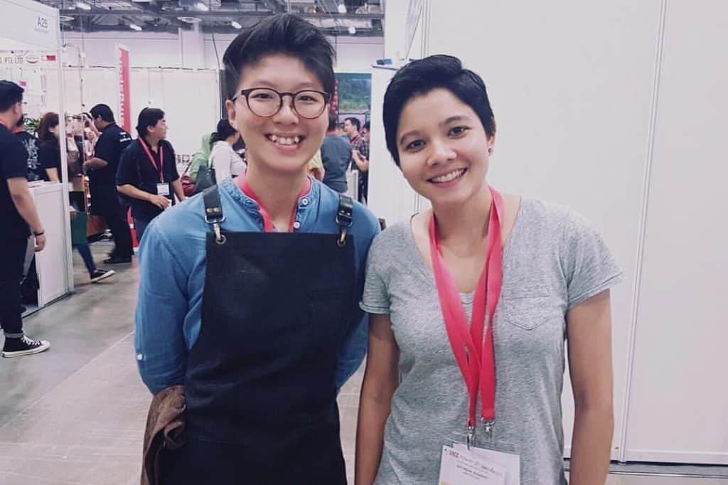 Celine Oh (Singapore Latte Art Championship)
